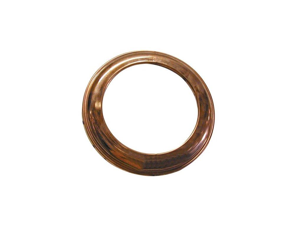 Dymová ružica 132 mm, medená