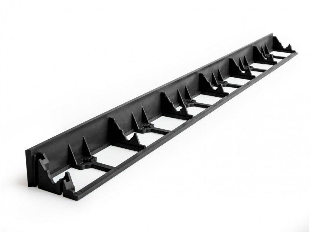 Plastový obrubník pre neviditeľné ohraničenie IGEL 45 mm
