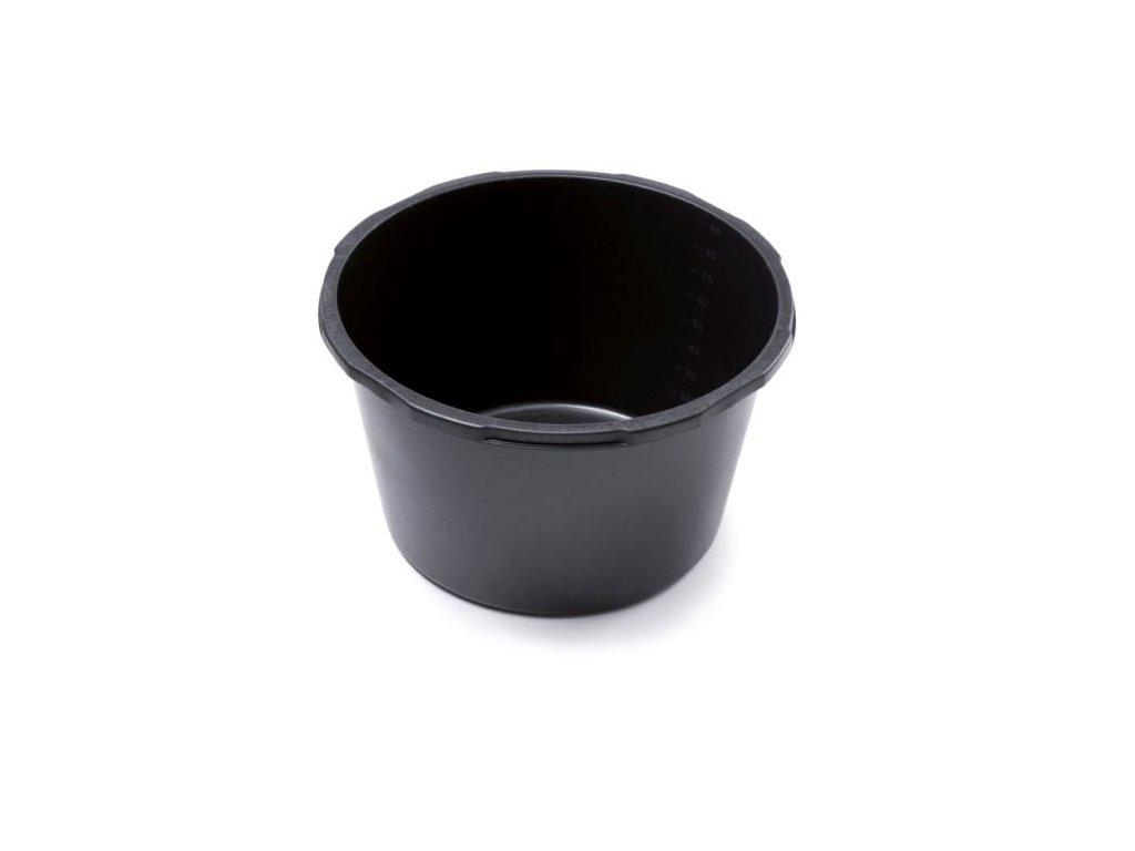 Maltovník CONTAINER guľatý čierny 45l