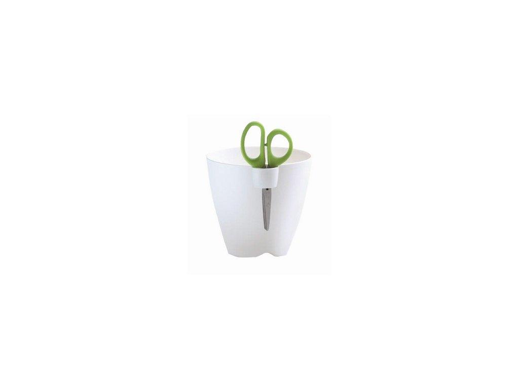 Kvetináč na bylinky LIMES UNO 15 cm, biela