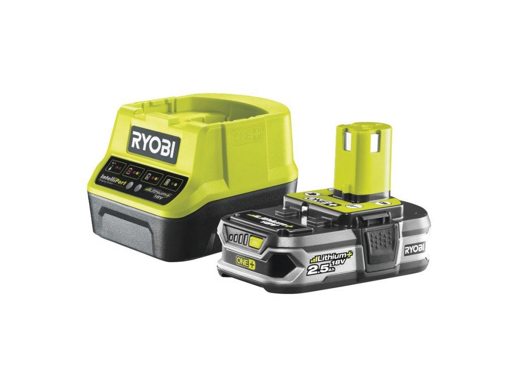 Akumulátor + nabíjačka RYOBI 18V 1x 2,5 Ah Li-Ion