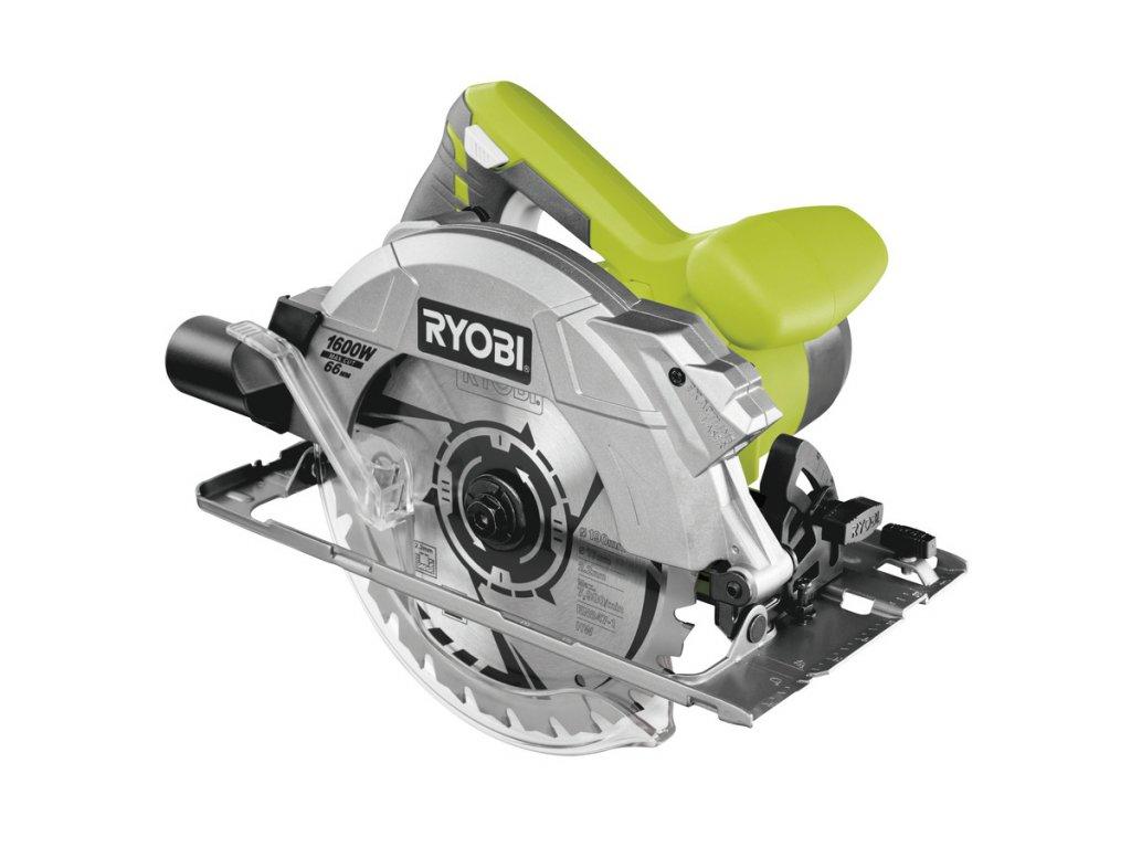 Okružná píla s laserom RYOBI RCS1600-K + puzdro