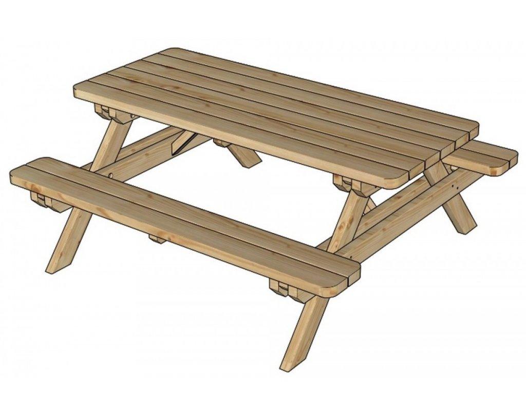 Záhradný stôl LANITPLAST GARDEN3 (SG907)