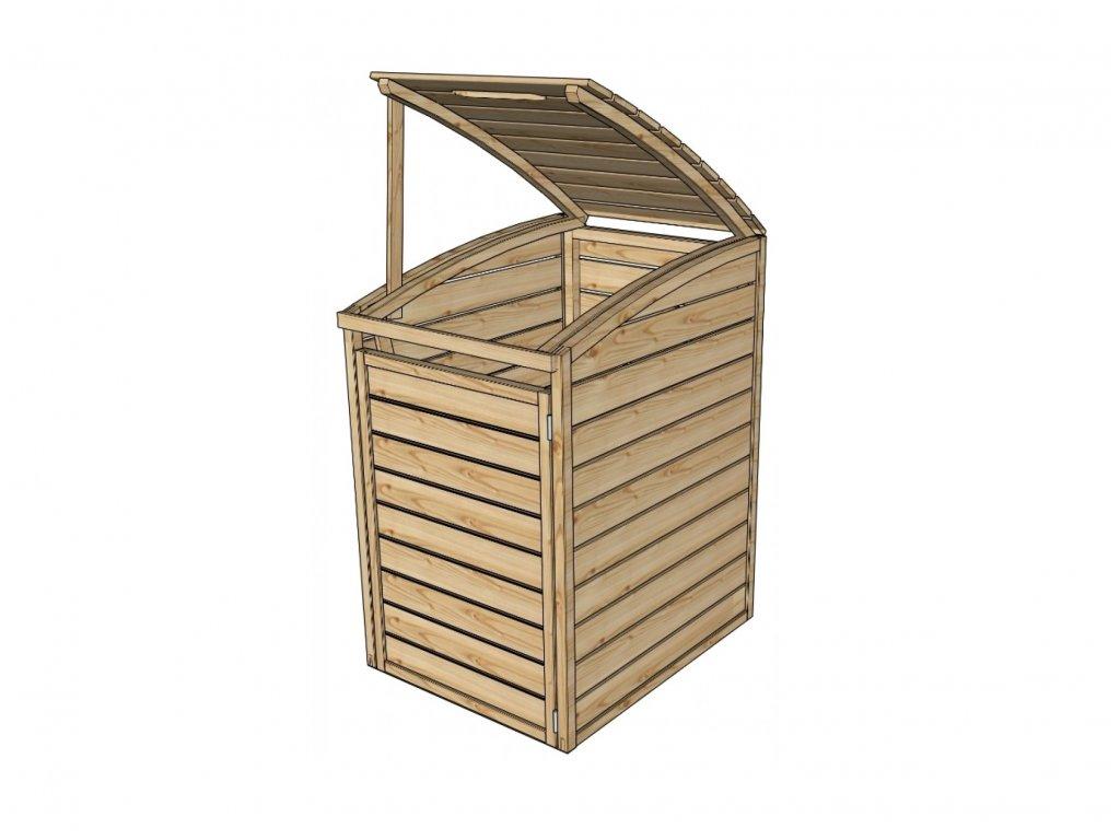 Záhradný úložný box LANITPLAST S751