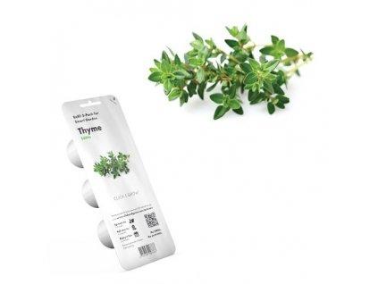 Tymián - náplň pre kvetináč Click and Grow