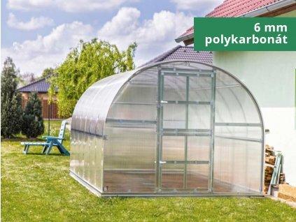 Záhradný  skleník GARDENTEC CLASSIC Profi 4 x 3 m
