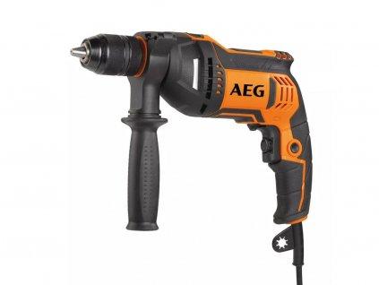 Elektrická príklepová vŕtačka AEG SBE 750 RE