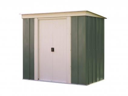 Záhradný domček ARROW PT 64, zelený