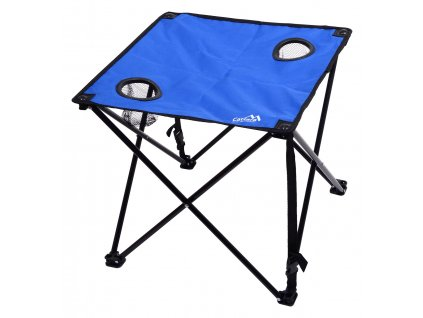 Stôl kempingový skladací LISBOA modrý