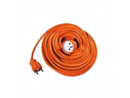 Predlžovací kábel 30 m, 3 x 1,0 mm, oranžový