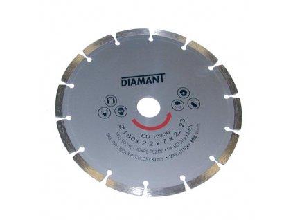 Diamantový kotúč 180 mm, segmentový