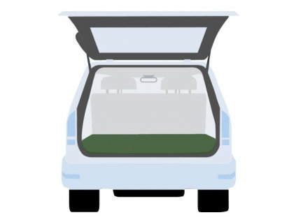 Krycia plachta do kufra auta 140 x 200 cm, PE 130g / m2