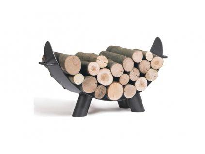 Stojan na drevo COOKKING Mila 80x43 cm