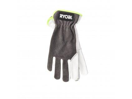 Kožené rukavice RYOBI RAC810XL