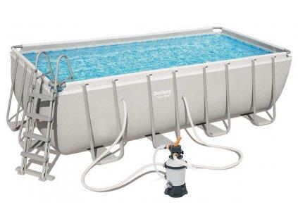 Bazén BESTWAY Power Steel Frame 4,88 x 2,44 x 1,22 m - 56671