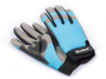 Záhradné rukavice CELLFAST polyester/polyuretán vel.10/XL
