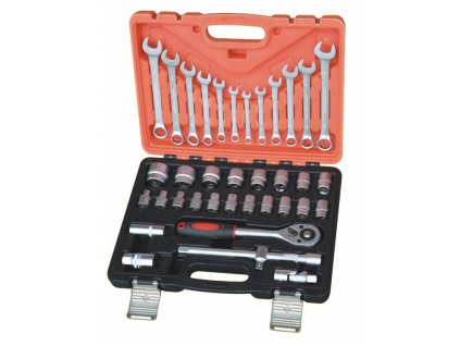 "Gola sada s kľúčmi ZealoT Tools 1/2"", 37 ks - AH123701"