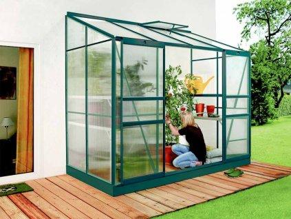 polykarbonatovy sklenik vitavia ida 3300 zeleny