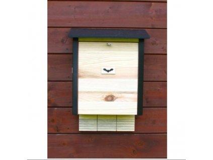 Búdka pre netopierov - veľká drevená typ 2015