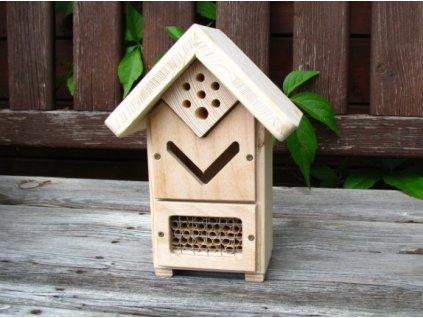 Hmyzí domček - pre včielky samotárky a ďalší užitočný hmyz