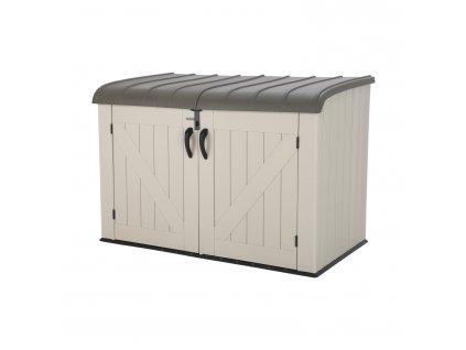 Záhradný úložný box LIFETIME 60170 HORIZONTAL