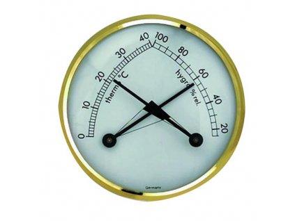 Teplomer s vlhkomerom (kombinácia) priemer 7 cm kovový