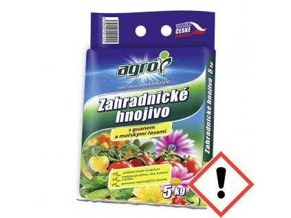 Záhradnické hnojivo AGRO 5 kg
