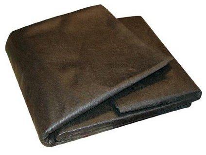 Netkaná textília 1,6 x 10m, čierna, UV 50g/m2
