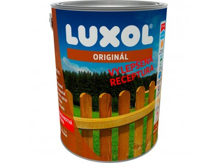 Lazura LUXOL Originál pre dekoratívne nátery na drevo - 0,75 L