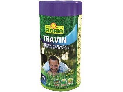 Hnojivo na trávniky FLORIA Travin 0,8 kg