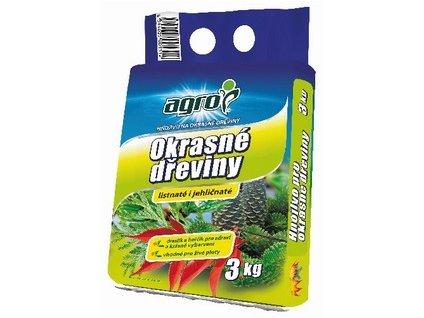 Hnojivo AGRO pre okrasné dreviny 3 kg