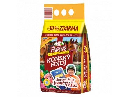 Hnoj konský granulovaný 2,5kg + 30% ZDARMA