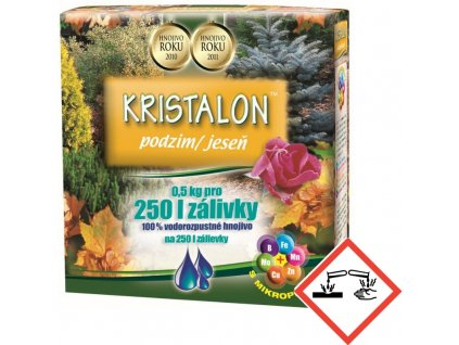 Hnojivo AGRO Kristalon Jeseň 0,5 kg