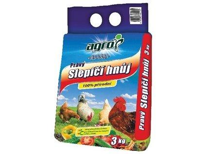 Pravý slepačí hnoj AGRO 3 kg