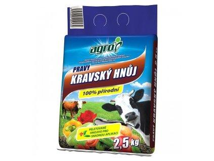 Pravý kravský hnoj AGRO 2,5 kg