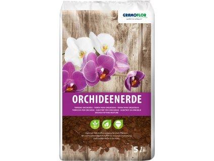 Substrát pre orchidey s píniovou kôrou GRAMOFLOR 5l