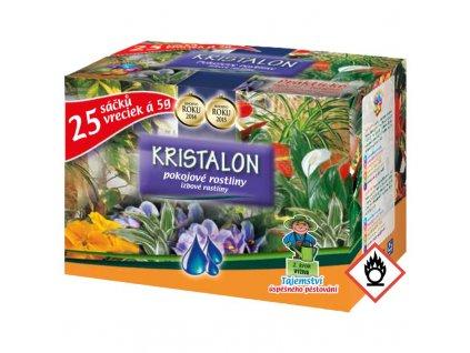 Hnojivo AGRO Kristalon pre izbové rastliny  25 x 5 g