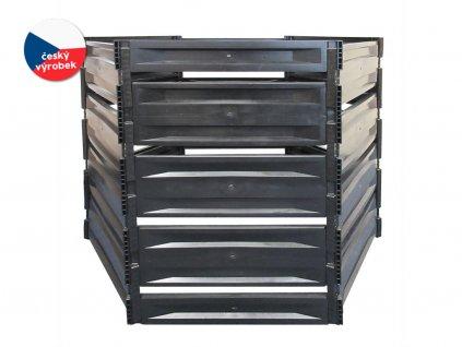 Kompostovacie silo S 1050 l čierne hrubostenné