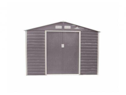 Záhradný domček G21 GAH 706 - 277 X 255 cm, sivý