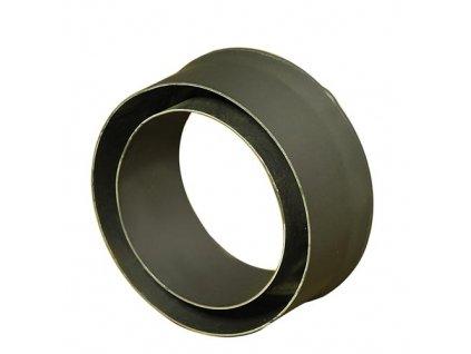 Komínová redukcia 130/150 mm (d.80 mm) t.1,5 mm, čierna