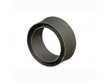 Komínová redukcia 145/200 mm (d.80 mm) t.1,5 mm, čierna