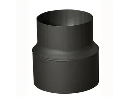 Rúrková redukcia 200/180 mm (d.160 mm), t.1,5 mm, čierna