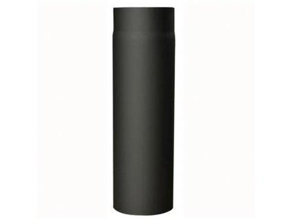 Dymová rúra 130 mm/500, t.1,5 mm, čierna