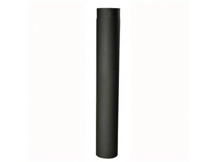 Dymová rúra 150 mm/1000, t.1,5 mm, čierna