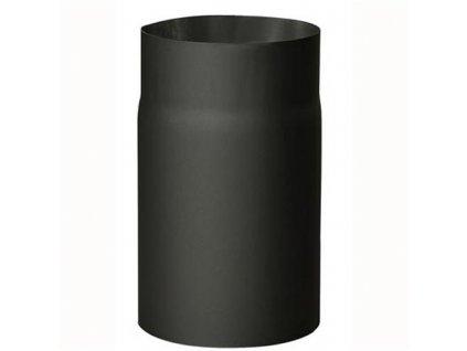 Dymová rúra 150 mm/250, t.1,5 mm, čierna