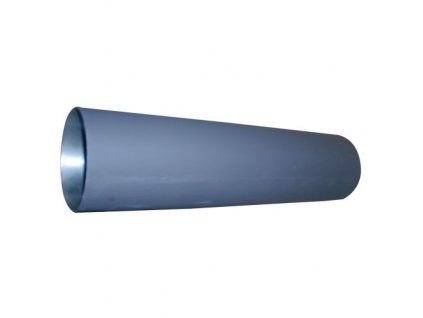 Dymová rúra 125 mm/500, t.1,5 mm, čierna