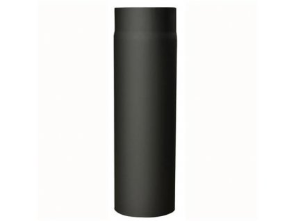 Dymová rúra 145 mm/500, t.1,5 mm, čierna