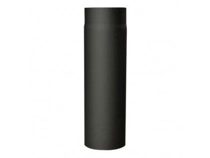 Dymová rúra s otv.120 mm/250, t.1,5 mm, čierna