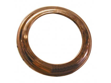 Dymová ružica 120 mm, medená