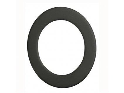 Dymová ružica 130 mm, t.1,5 mm čierna